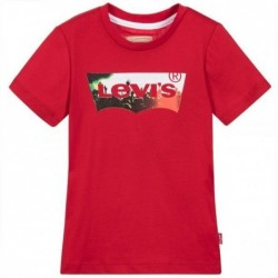 LEVI´S BOY CAMISETA RED